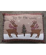 Christmas Decor Pillow 31146R - Joy to the World  - $10.95