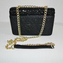 Betsey Johnson Sequin Jeweled Heart Flap Shoulder Bag image 5