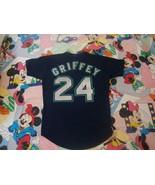 Seattle Mariners Ken Griffey Jr Authentic Jersey Sz 44 Russell vtg 90's  - $98.99