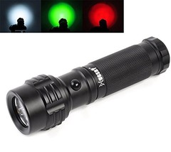 Tactical Flashlight, welltop 11-LED 3AAA Batteries Powered Mini Pocket L... - $23.22