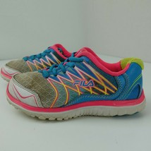 FILA Swept Sneaker Bambini Scarpe Misura 1 Rosa Blu 3sr20787-149 - $16.58