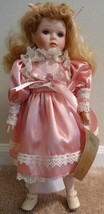 Seymour Mann Vintage 1997 Porcelain Connoisseur Collection Doll Evelyn N... - $19.79