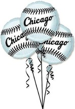 Chicago White Sox MLB Baseball Sports Banquet Party Decoration Mylar Bal... - $13.17