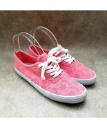 American Eagle Womens  159695 Sz 6.5 M Pink  Lace Up Casual Sneakers - $24.99