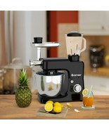 3-in-1 Multi-functional 6-speed Tilt-head Food Stand Mixer - new (cy) - $239.57