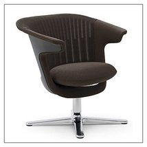 Steelcase i2i Collaborative Chair by Steelcase, color = Root Beer - $1,622.00
