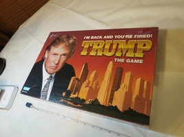President Donald Trump board game I'M Back You're Fired RARE Money T Bills USA - $53.45