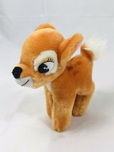 VINTAGE WALT DISNEY ANIMATED FILM CLASSIC BAMBI PLUSH DOLL FIGURE MADE I... - $17.67