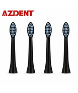 AZDENT® New 4pcs Replacement Heads Adults AZ-08 Electric Toothbrush Ultr... - $9.39