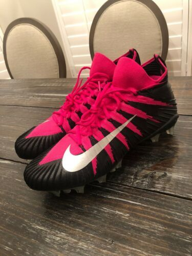 online store 6aa3a d3b86 12. 12. Previous. NIKE Alpha Menace Elite BCA Cancer Football Cleats Pink  Adult Size 14 918203-006