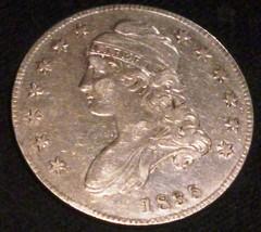 US 1835  Half Dollar .CAPPED BUST ,EARLY HALF - $246.51
