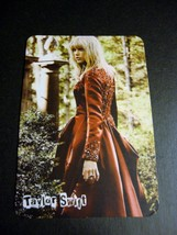 Taylor Swift 1 pocket trading playing card with Sweeter Than Fiction Lyrics - $5.00