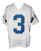 Randy Moss #3 Dupont High School Men Football Jersey White Any Size image 2