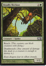 Magic The Gathering Deadly Recluse Card #168/249 - $0.99