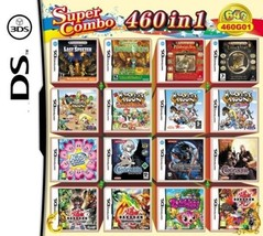 460 in 1 Compilations Video Game DS/3DS Cartridge Card Compatible Model Nintendo - $36.06