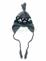 Diesel Jean Gray K-Stealt Inka Hat Ear Flap Trapper Aviator Trooper Leat... - $39.99