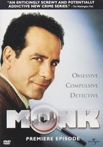Monk: Premiere Episode - DVD ( Ex Cond.) - $8.80