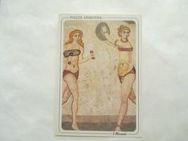 Piazza Armerina I Mosaici Continental Sized Postcard - $1.99