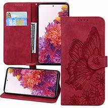 XYX Wallet Case for LG K52, LG K52 Retro Butterfly Case Cover for LG K52... - $8.81