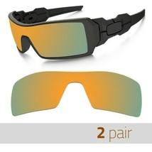 2 Pair Optico Replacement Polarized Lenses for Oakley Oilring Sunglasses...  -  11.99 c1a267c3e8