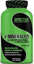 Species Nutrition V-Minerlyze, 300 Count
