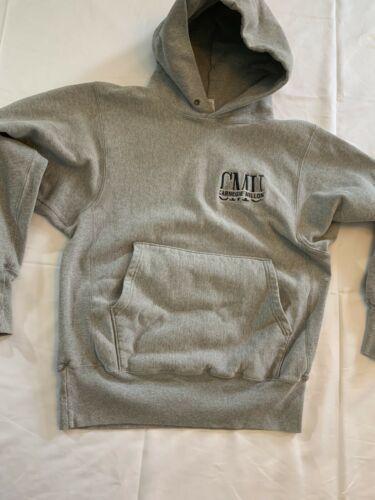 Vintage Carnegie Mellon Tartans Champion Reverse Weave Hoodie Sweatshirt Sz M