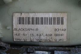 02-04 BMW E65 Exterior Door Handle Front Passenger Right - RH[BLACKSAPHIR] image 6