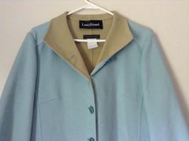 Louis Feraud Finition Main Baby Blue Blazer Jacket Made in Italy No Size Tag image 2