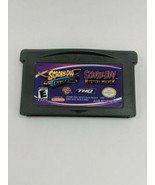 GameBoy Advance - 2 in 1: Scooby Doo: Cyber Chase + Mystery Mayhem cartr... - $12.86