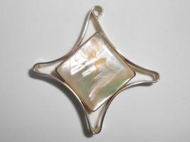 DeNicola Vintage Brooch Pin Mother Of Pearl - $14.25