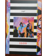 "5 Seconds of Summer SOS Autographed ""YouNGBlooD"" 11 x 17 Cardstock Promo... - $29.95"