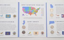 1999 - 2000 State Quarter Collection Folios - $43.55