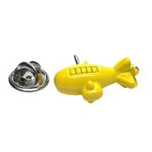 Yellow Submarine  tie pin, Lapel Pin Badge, in gift box