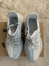 Adidas Yeezy Spinta 350 v2 Nuvola Bianco Non Riflettente USA Uomo 10 Ric... - $281.53