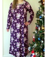 Charter Club Womens Nightgown MEDIUM 100% Cotton Sleepwear NEW - $38.56