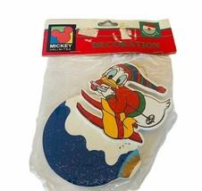 Walt Disney Christmas Ornament Kurt Adler SEALED Mickey Unlimited Donald... - $19.69