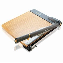 Westcott ACM15107 TrimAir Titanium Wood Guillotine Paper Trimmer with An... - $90.62