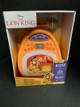 NEW - Disney Lion King Bluetooth MP3 Karaoke with Light Show. *Limited S... - $46.74