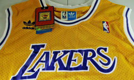 SHAQUILLE O'NEAL / AUTOGRAPHED LOS ANGELES LAKERS YELLOW PRO STYLE JERSEY / COA image 5
