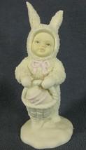 Snowbunnies A Tisket A Tasket Department 56 Springtime Stories Figurine ... - $17.95