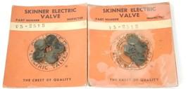 LOT OF 2 NEW PACKS OF SKINNER ELECTRIC VALVE V5-2313 PARTS V52513
