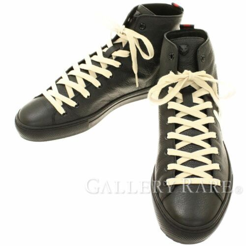 9006629c473 GUCCI Sneakers Blind for Love Leather Black x White  7 449992 Authentic  4831198 -  641.74