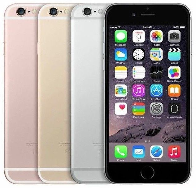 Apple iPhone 6s | 64GB 4G LTE | FACTORY GSM UNLOCKED Smartphone