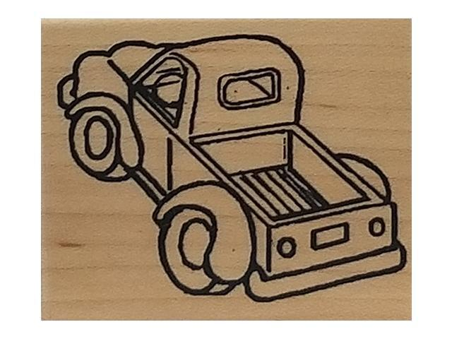 River City Rubber Works 1998 Pickup Rubber Stamp #796-1
