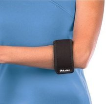 Mueller Tennis Elbow Support, Black, One Size - $8.21