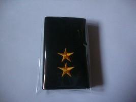 Lieutenant, Lt. Rank Royal Thai army corps Soldier Shoulder Boards Fabric Pair - $8.60