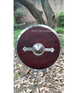 NauticalMart Armour Viking Shield Brown Full Size Replica Medieval Armor Shield  - $399.00