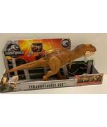 New Jurassic World Thrash 'n Throw Tyrannosaurus Rex Dinosaur Figure - $36.74