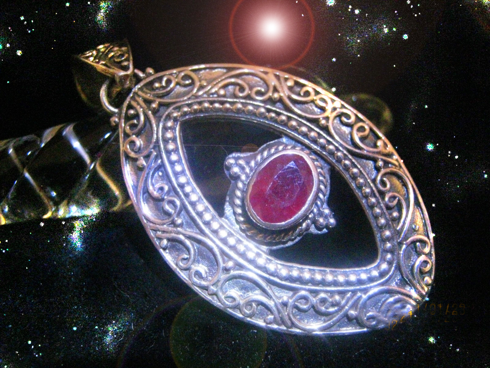 Primary image for HAUNTED NECKLACE ASCENDED MASTERS GIFTS OF FIERY LOVE RARE SECRET MAGICK
