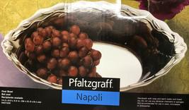 """Pfaltzgraff 14"""" Napoli Cast Aluminum Oval Bowl NEW in Box - $24.99"""